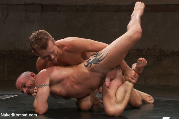 Gay sexual submissive wrestling
