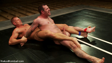 Naked gay men wrestling