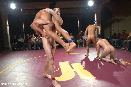 naked wrestling gay